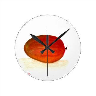 Relógio Redondo Fruta da manga