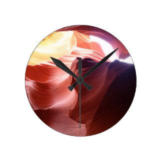 Relógio Redondo Garganta do antílope