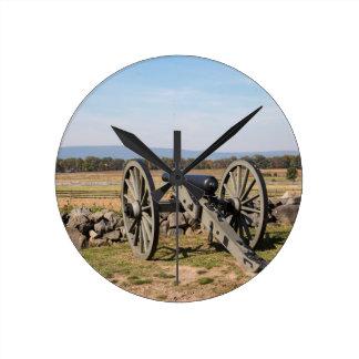 Relógio Redondo Gettysburg: Uma ideia da carga de Pickett