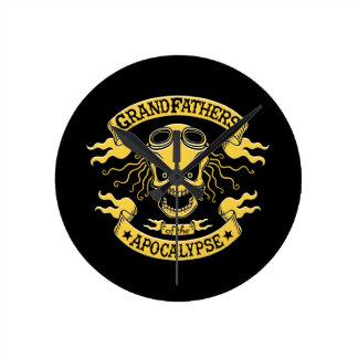 Relógio Redondo Gramps do apocalipse