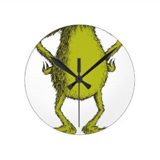 Relógio Redondo gringo sem a cabeça