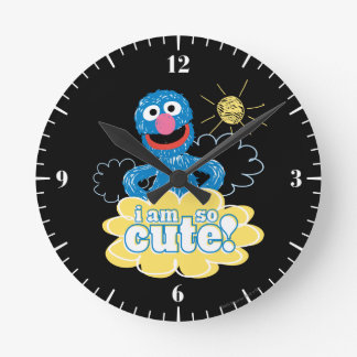 Relógio Redondo Grover bonito