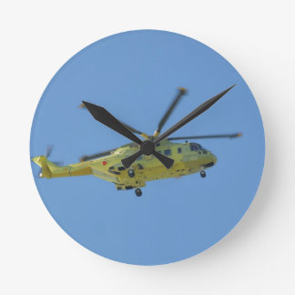 Relógio Redondo Helicóptero às ilhas de Scilly