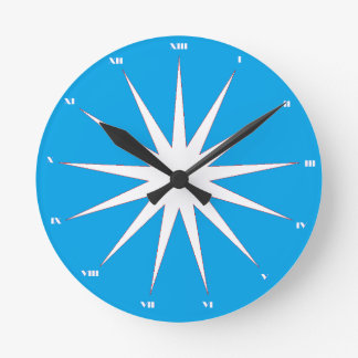 Relógio Redondo Hora extra no dia