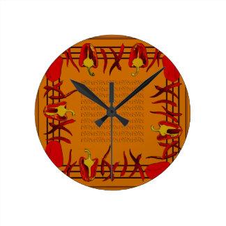 Relógio Redondo Hots e doces #11