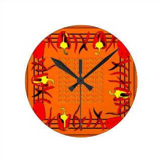 Relógio Redondo Hots e doces #12