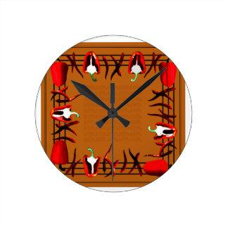 Relógio Redondo Hots e doces #14