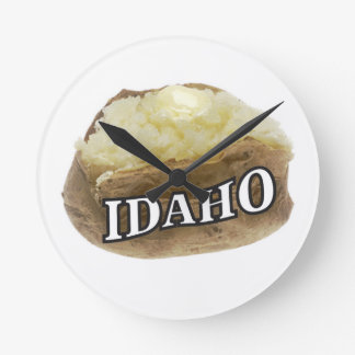 Relógio Redondo Idaho spud