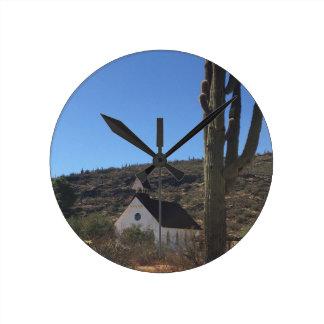 Relógio Redondo Igreja ocidental velha