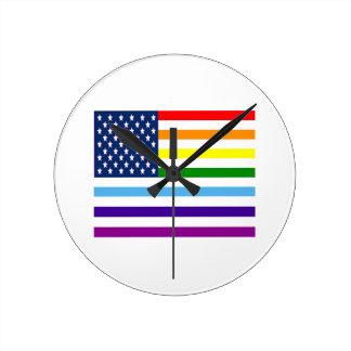 Relógio Redondo Igualdade americana