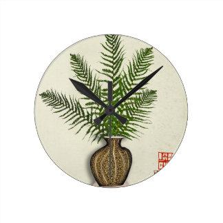 Relógio Redondo ikebana 15 por fernandes tony
