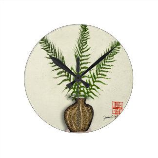Relógio Redondo ikebana 18 por fernandes tony