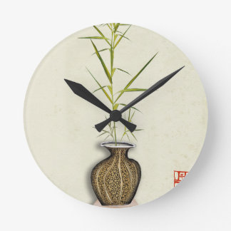 Relógio Redondo ikebana 19 por fernandes tony