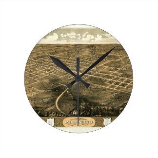Relógio Redondo independence1868