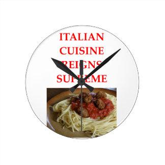 Relógio Redondo italiano