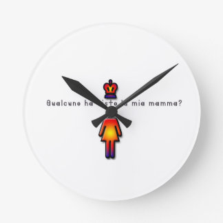 Relógio Redondo Italiano-Mamães