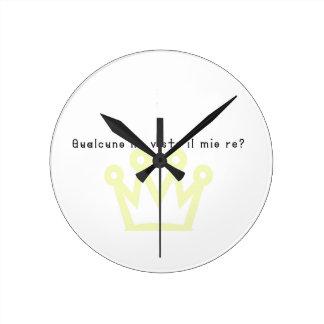 Relógio Redondo Italiano-Rei