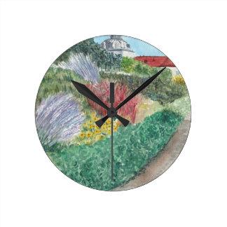 Relógio Redondo Jardins em Schloss Köpenick