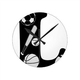 Relógio Redondo l inicial