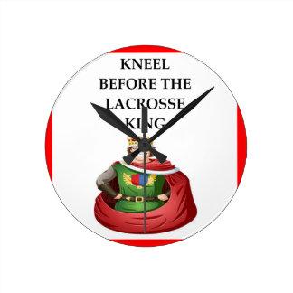 Relógio Redondo lacrosse