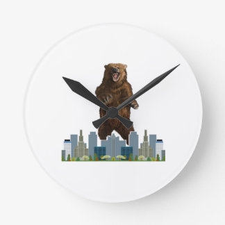 Relógio Redondo Lançamento do urso