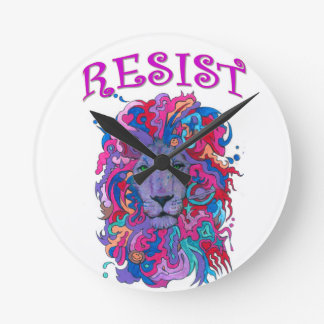 Relógio Redondo Leão da resistência