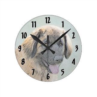 Relógio Redondo Leonberger