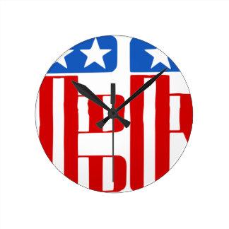 Relógio Redondo Liberdade