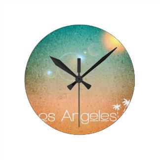 Relógio Redondo Los Angeles