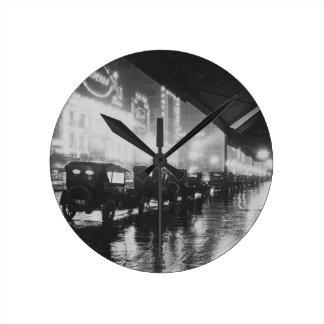 Relógio Redondo Los Angeles 1920