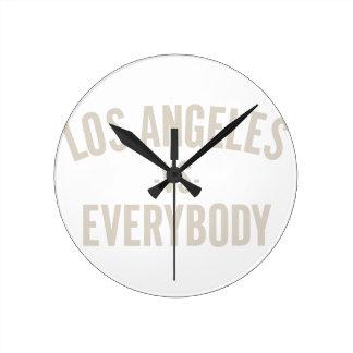 Relógio Redondo Los Angeles contra todos
