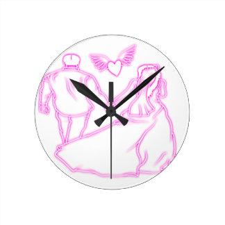 Relógio Redondo love