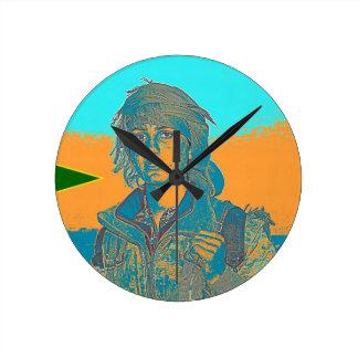 Relógio Redondo Lutador curdo 6 de YPJ