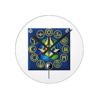 Relógio Redondo Maçonaria todas as religiões