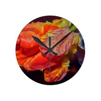 Relógio Redondo Magic Conversas Tulip