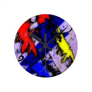 Relógio Redondo Mágica do Airbrush