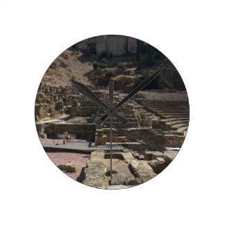 Relógio Redondo Malaga; anfiteatro