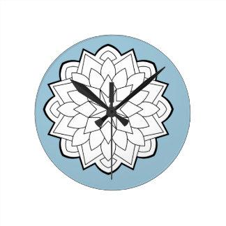 Relógio Redondo Mandalas
