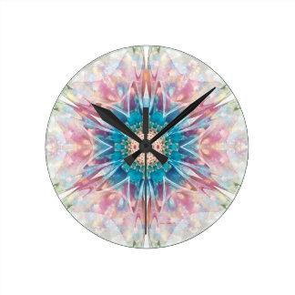 Relógio Redondo Mandalas do coração da liberdade 30 presentes