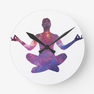Relógio Redondo Meditação
