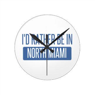 Relógio Redondo Miami norte