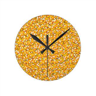 Relógio Redondo Milho de doces