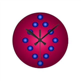 Relógio Redondo minimalismo contemporâneo da decoração da