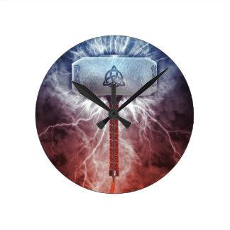 Relógio Redondo Mjolnir