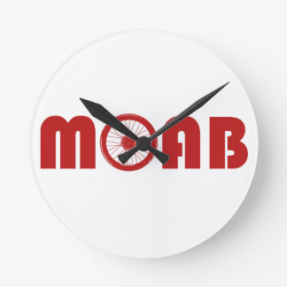 Relógio Redondo Moab (roda da bicicleta)