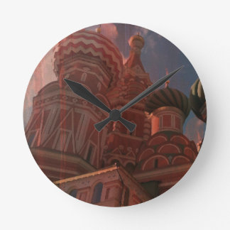 Relógio Redondo Moscow_russia