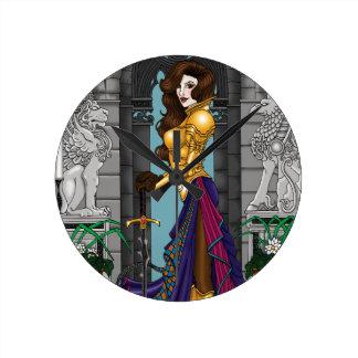 Relógio Redondo Mulher do guerreiro