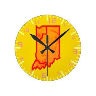 Relógio Redondo Nas zonas