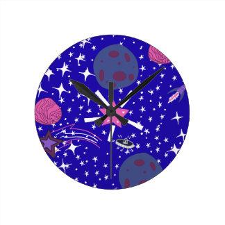 Relógio Redondo nebulosa