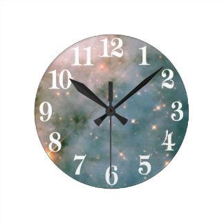 Relógio Redondo Nebulosa luminosa de Carina